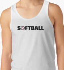 Softball Tank Top