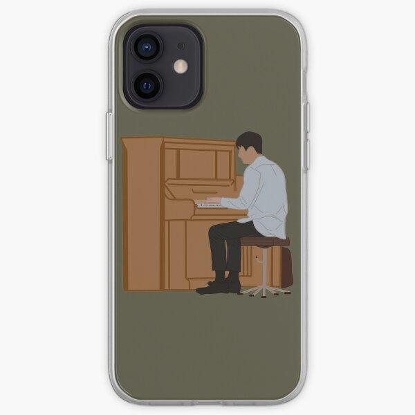 Crash Landing on You Scène de piano en Suisse Coque souple iPhone
