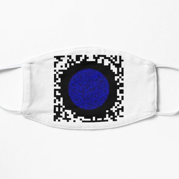Optical illusion abstract art Flat Mask
