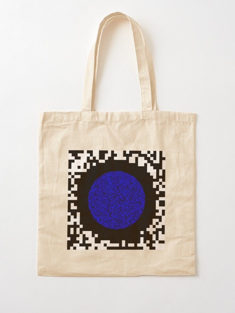 Alternate view of Optical illusion abstract art Tote Bag