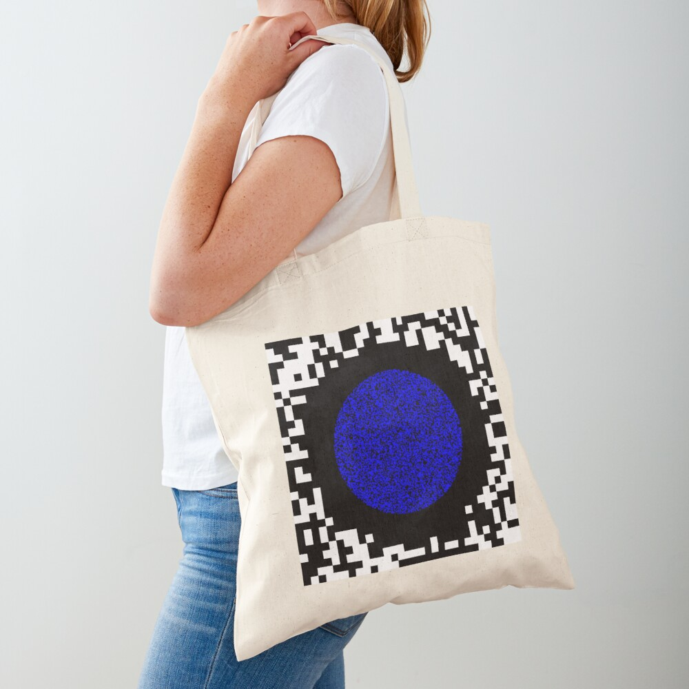 Optical illusion abstract art Tote Bag