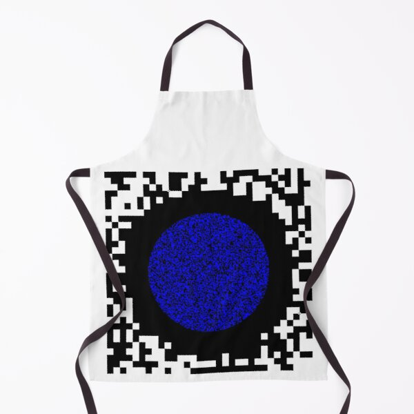 Optical illusion abstract art Apron