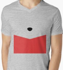 Rumbly in my Tummy Mens V-Neck T-Shirt