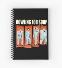 Bowling for Soup Spiral Notebook