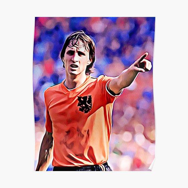 "Johan Cruyff ""Artwork"" Poster"