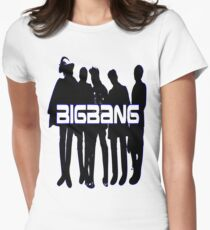 ♥♫Love BigBang Cool K-Pop Clothes & Phone/iPad/Laptop/MackBook Cases/Skins & Bags & Home Decor & Stationary♪♥ Women's Fitted T-Shirt