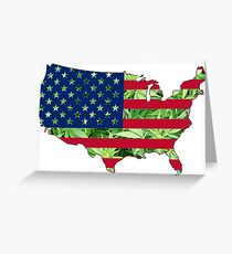 Dank States of America Greeting Card
