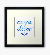 Carpe Diem - seize the day Framed Print