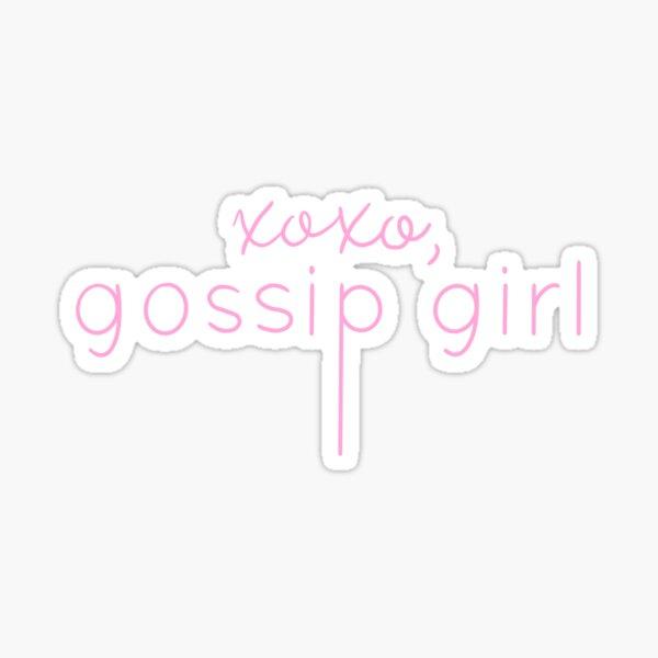 XOXO - Gossip Girl Sticker