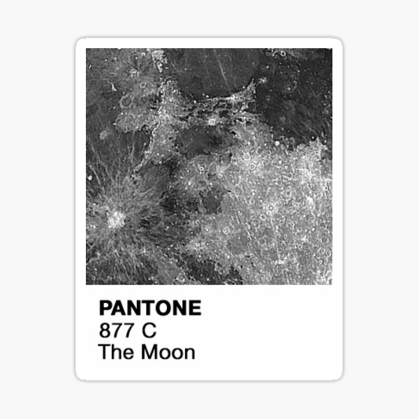 Pantone - Moon Sticker