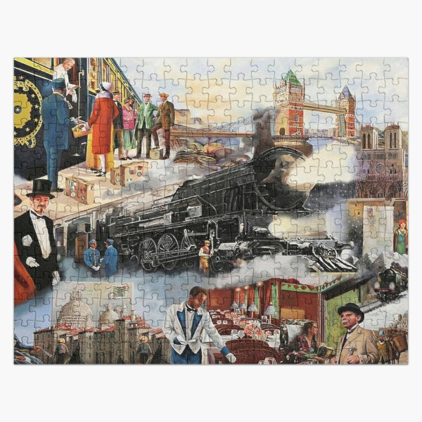 Orient Express Jigsaw Puzzle