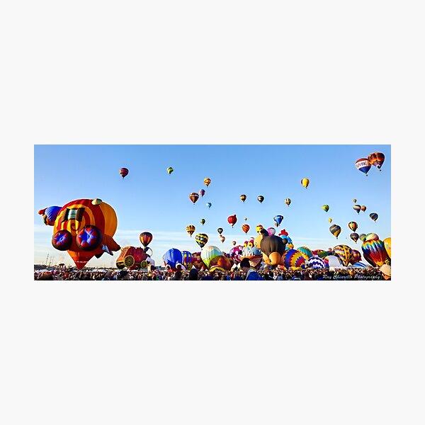 Balloon Ascension Photographic Print
