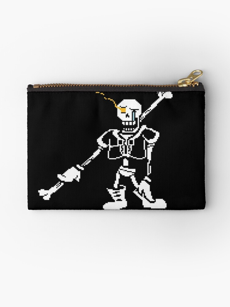 'Undertale Papyrus Disbelief inspired by undertale' Zipper Pouch by Tim  Schnapperelle