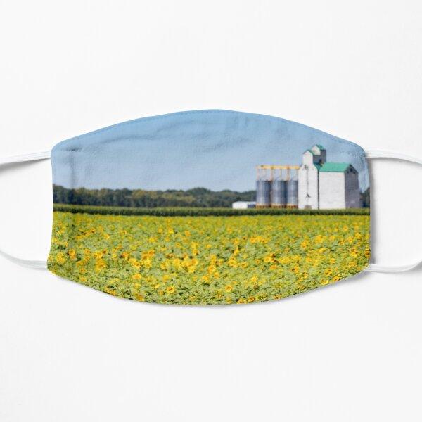 Field of Sunflowers, Elevator of Grain Mask