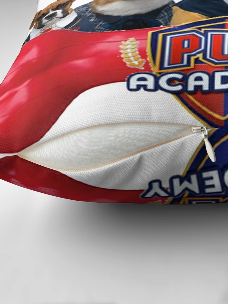 Alternate view of Pup Academy Show Throw Pillow