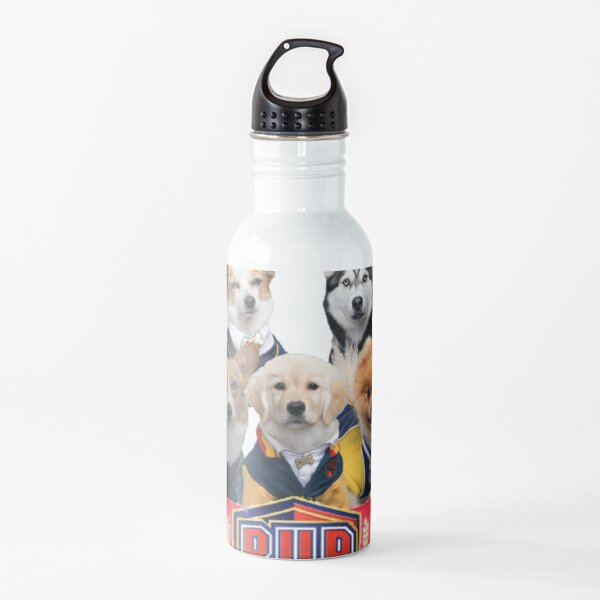 Pup Academy Show Water Bottle