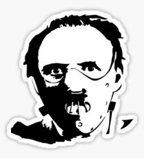 Hannibal Lecter-Hopkins Sticker