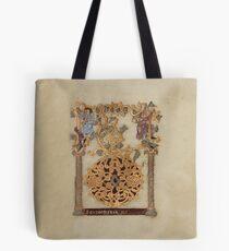 Decorated Initial D - D[eu]s qui Hodierna Die (1000 - 1025 AD) Tote Bag
