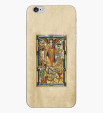 Saint Michael Battling the Dragon (1170 AD) iPhone Case