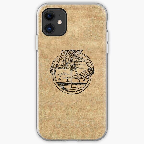 Constantia et Labore -  House of Plantin Printer's Mark iPhone Soft Case