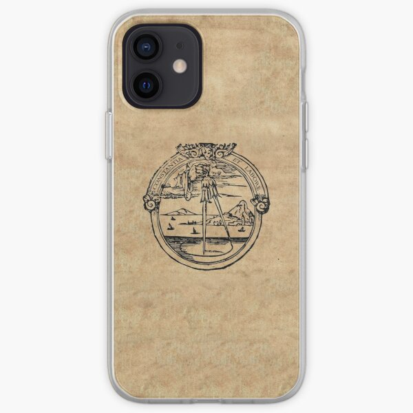 Constantia et Labore -  House of Plantin Printer's Mark iPhone Soft Case