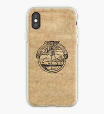 Constantia et Labore -  House of Plantin Printer's Mark iPhone Case