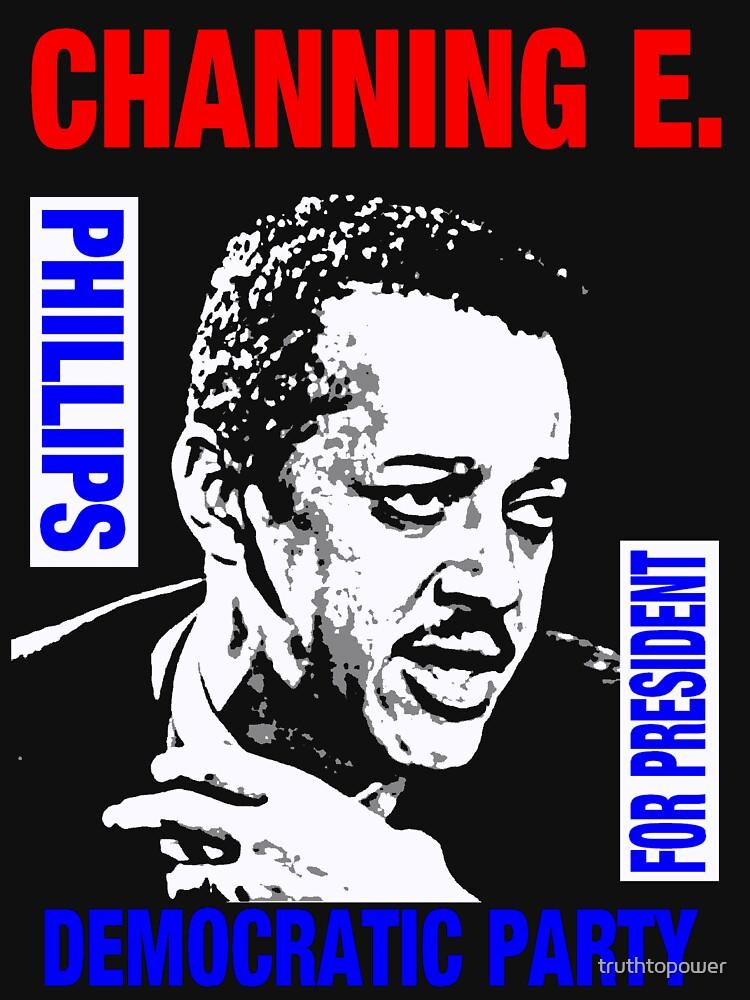 Channing E. Phillips-Für Präsident 2 von truthtopower