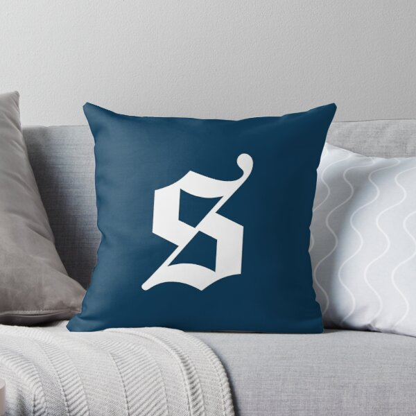 The Sexy Codicology Logo Throw Pillow
