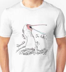 African spoonbill, Lepelaar T-Shirt
