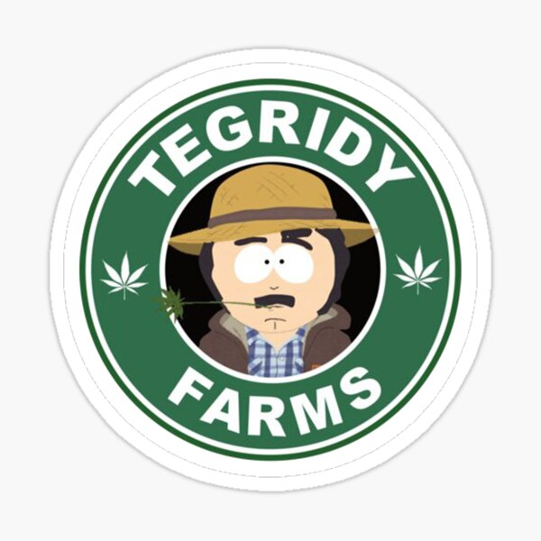 Nouveautés Tegridy Weed Sticker