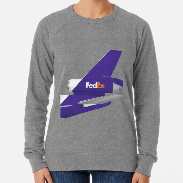 Wings In Uniform - DC-10 - Fedex 00's Lightweight Sweatshirt