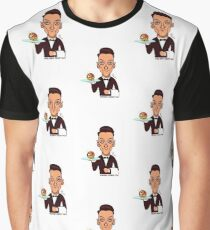 How may I assist you? Graphic T-Shirt