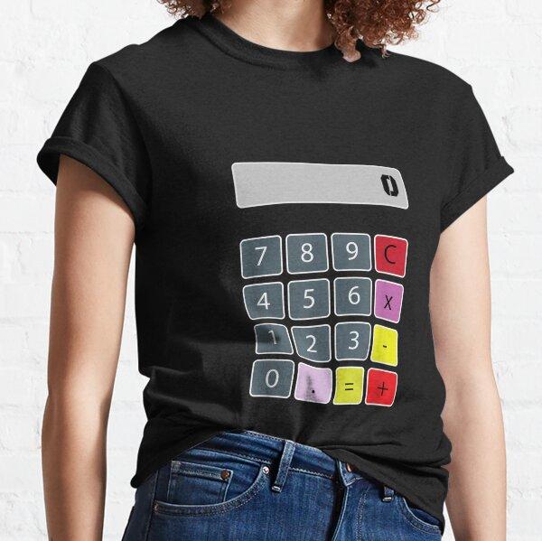 Calculator-Halloween-Costumes-Lazy-Easy-Last-Minute-Diy-Idea- Classic T-Shirt