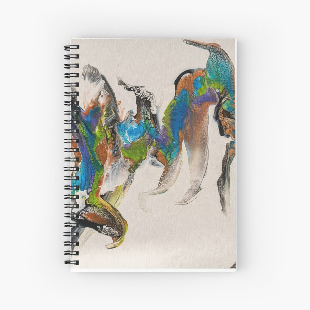 Birds eye view Spiral Notebook
