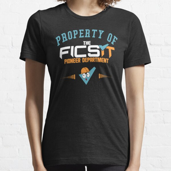 Property of The FICSIT Pioneer Department Essential T-Shirt