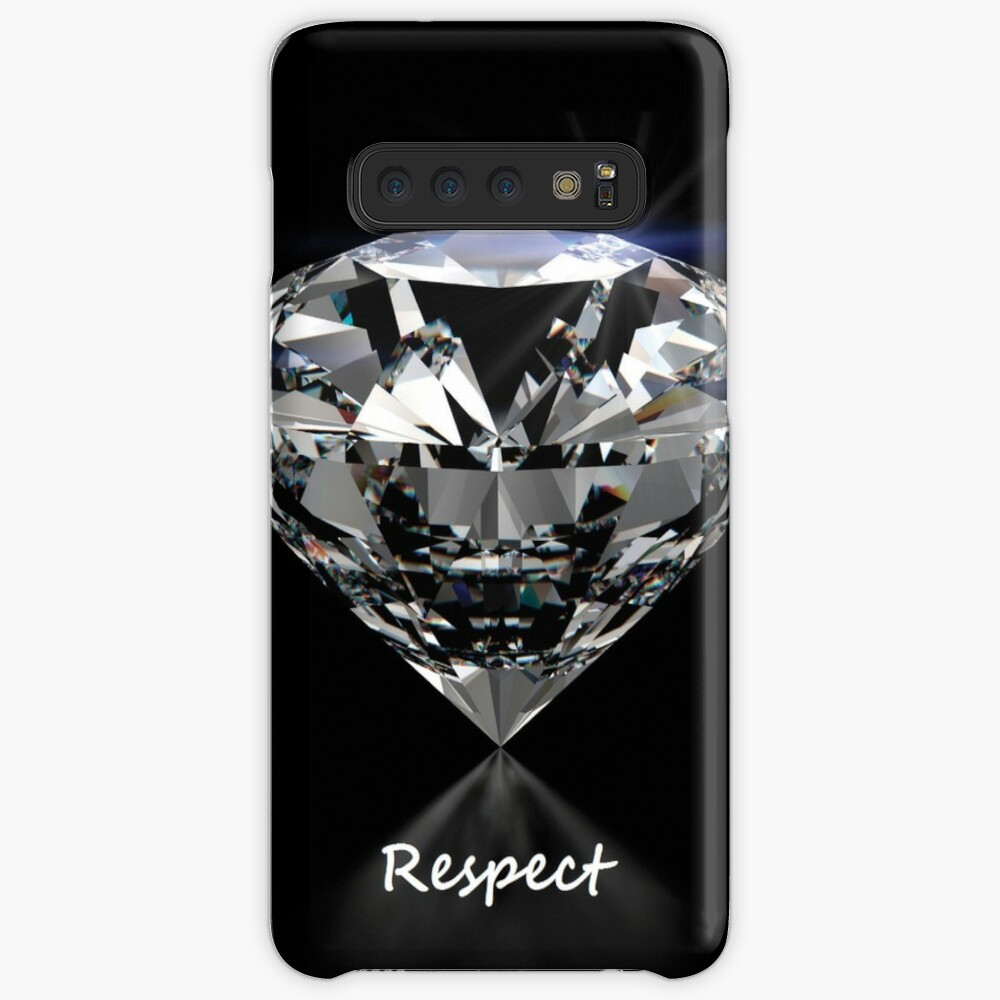 Diamond Shine & Respekt Hülle & Klebefolie für Samsung Galaxy