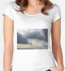 Ominous Women's Fitted Scoop T-Shirt