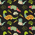 Eat Your Veggies in Brights by limegreenpalace