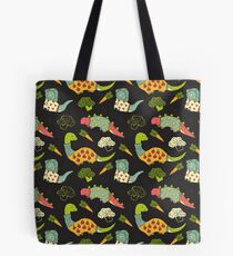 Eat Your Veggies in Brights Tote Bag