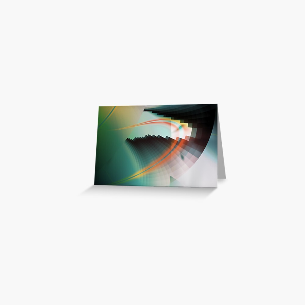 Multi-Color Abstract Symbol Greeting Card