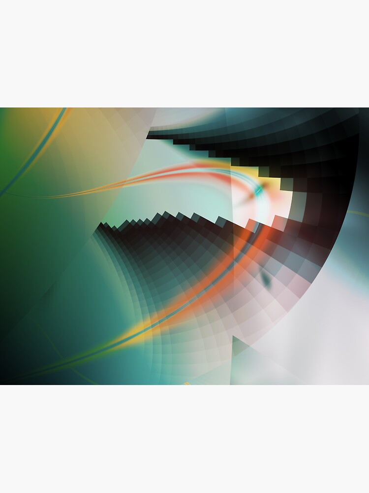 Multi-Color Abstract Symbol by garretbohl