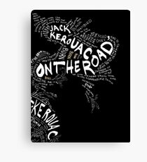 Jack Kerouac On the Road Canvas Print