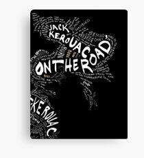 Jack Kerouac On the Road Canvas Print