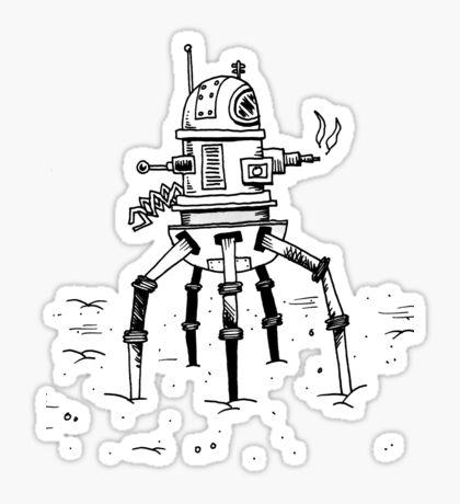 Walk R1 Roboy Sticker By King Bee