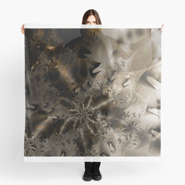 The Badlands Space Art Scarf