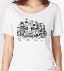 Relic from the Robot Wars Women's Relaxed Fit T-Shirt