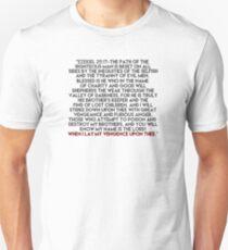 Ezekiel 25:17 Speech T-Shirt