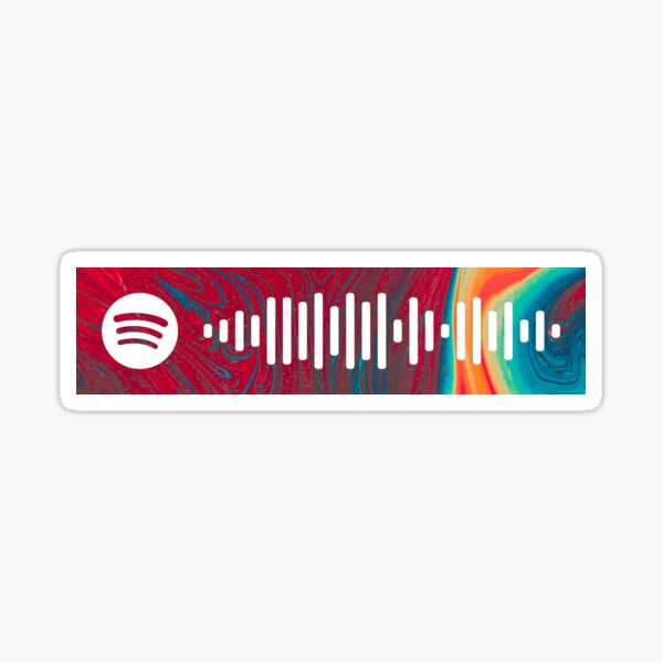 Lost In Yesterday by Tame Impala Spotify Scan Code Sticker