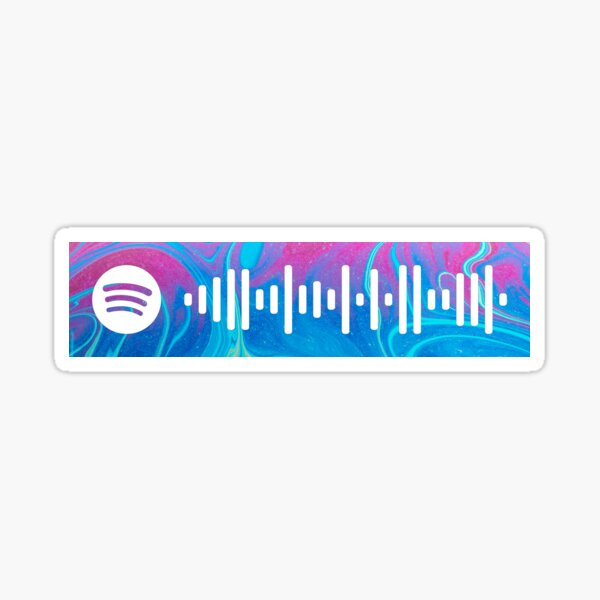 The Less I Know The Better by Tame Impala Spotify Scan Code Sticker