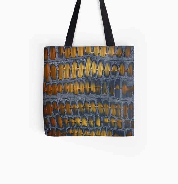 576 - FREQUENCY OF LOVE All Over Print Tote Bag